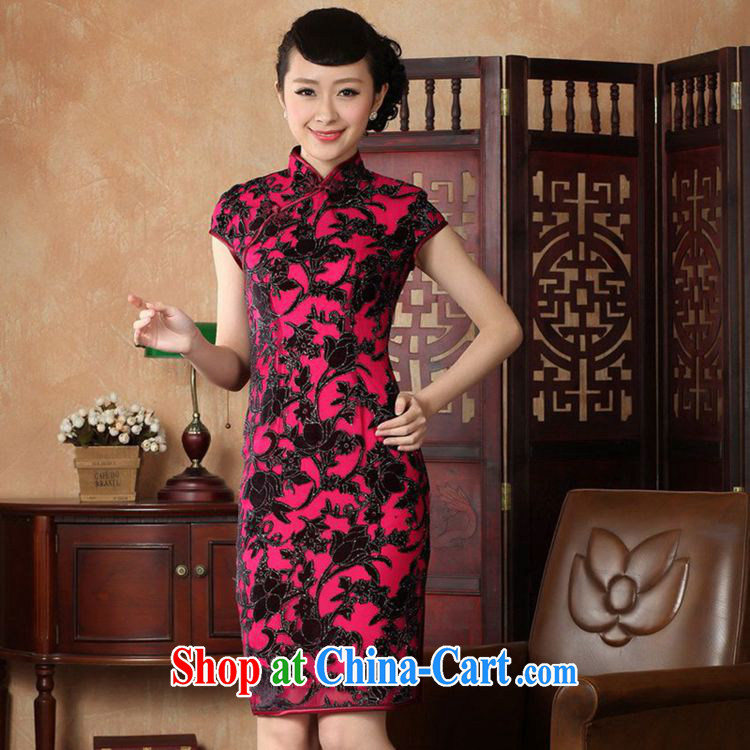 According to fuser stylish new ladies retro Ethnic Wind outfit, for a tight Classic tray for cultivating Chinese qipao dress LGD/TD #0014 figure 2 XL pictures, price, brand platters! Elections are good character, the national distribution, so why buy now enjoy more preferential! Health