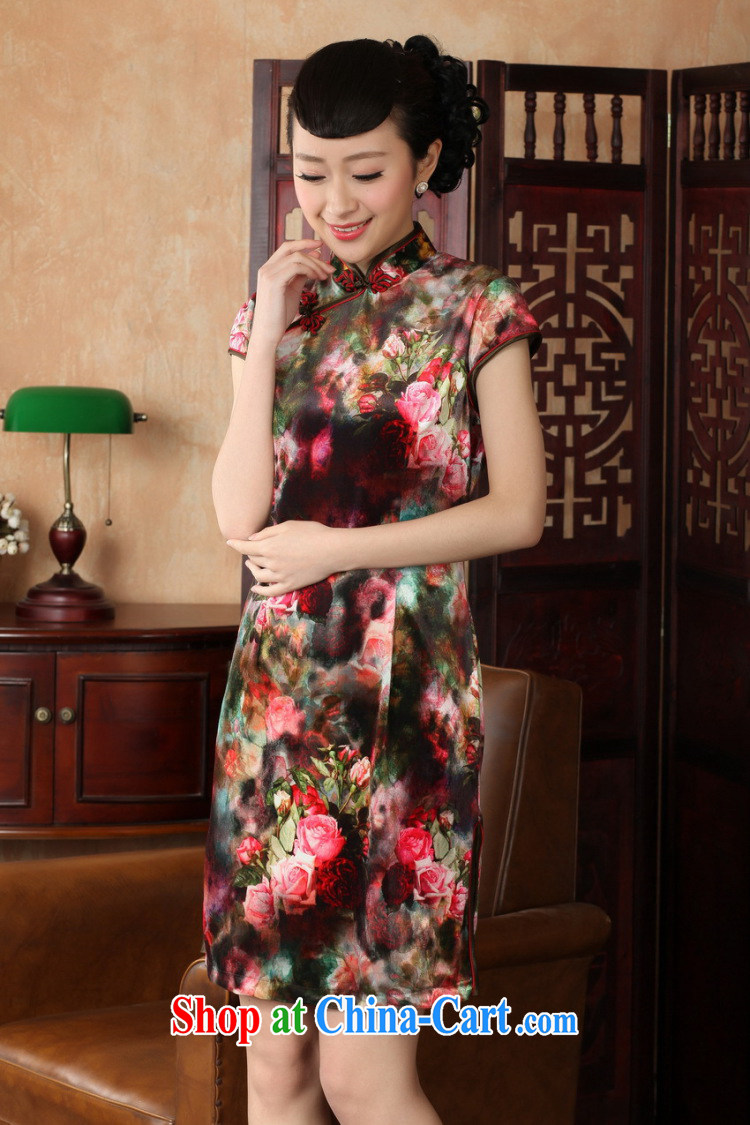 According to fuser stylish new clothes improved Chinese qipao, for a tight Classic tray for cultivating short Chinese qipao dress LGD/TD #0013 figure 2 XL pictures, price, brand platters! Elections are good character, the national distribution, so why buy now enjoy more preferential! Health