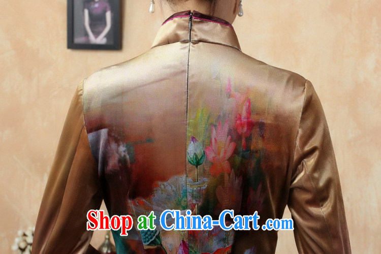 According to fuser stylish new female Ethnic Wind improved Chinese qipao, for classical-tie hand-painted cultivating Chinese cheongsam dress LGD/TD #0009 figure 2 XL pictures, price, brand platters! Elections are good character, the national distribution, so why buy now enjoy more preferential! Health