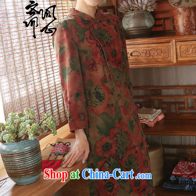 q heart Id al-Fitr (Yue heart health female summer new Hong Kong cloud yarn classic qipao the tablets dating back 1923 cheongsam picture color manual custom, ask a vegetarian, shopping on the Internet