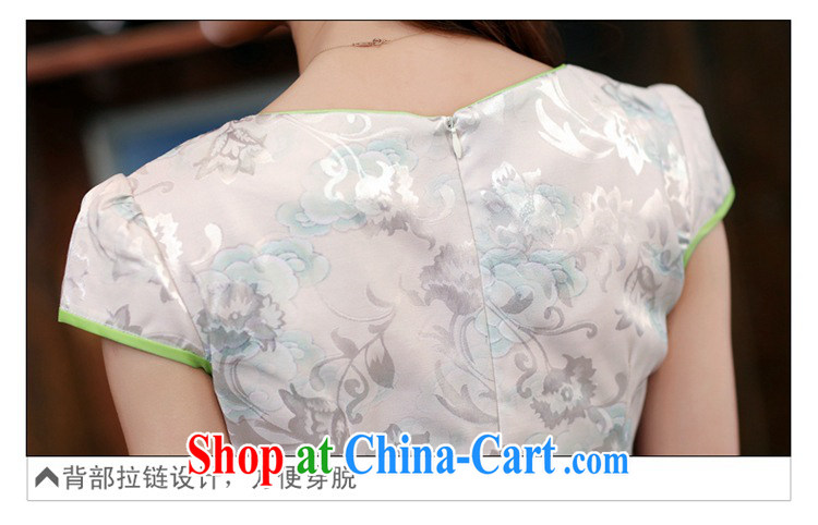 2015 new suit Daily High jacquard cotton robes spring and summer retro fashion beauty dresses dresses girls 982 Dan Feng cited disc M pictures, price, brand platters! Elections are good character, the national distribution, so why buy now enjoy more preferential! Health