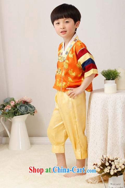 Shanghai, optimize purchase children's Chinese qipao two-piece children's Chinese kit and replace the long this exercise clothing yellow height 130 CM pictures, price, brand platters! Elections are good character, the national distribution, so why buy now enjoy more preferential! Health