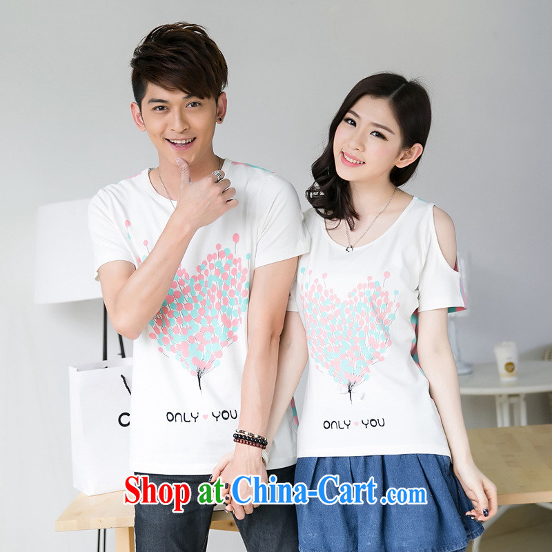 Health concerns women _ couples with 2015 couples with summer candy colored cotton stamp streaks covered shoulders bat sleeves short sleeves shirt T F 2542 dark male XXL