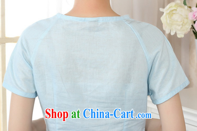 According to fuser new Ethnic Wind women retro improved short-sleeved cotton Ma hand-painted Chinese T-shirt LGD/A #0074 figure 2 XL pictures, price, brand platters! Elections are good character, the national distribution, so why buy now enjoy more preferential! Health