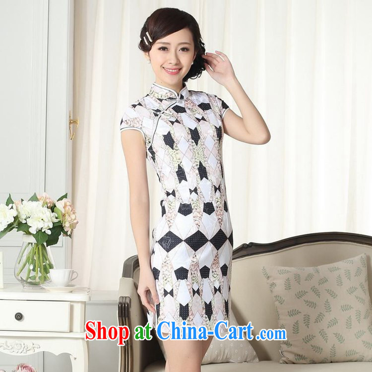 According to fuser new female retro improved Chinese daily dresses elegance beauty short Chinese qipao dress LGD/D #0278 figure 2 XL pictures, price, brand platters! Elections are good character, the national distribution, so why buy now enjoy more preferential! Health