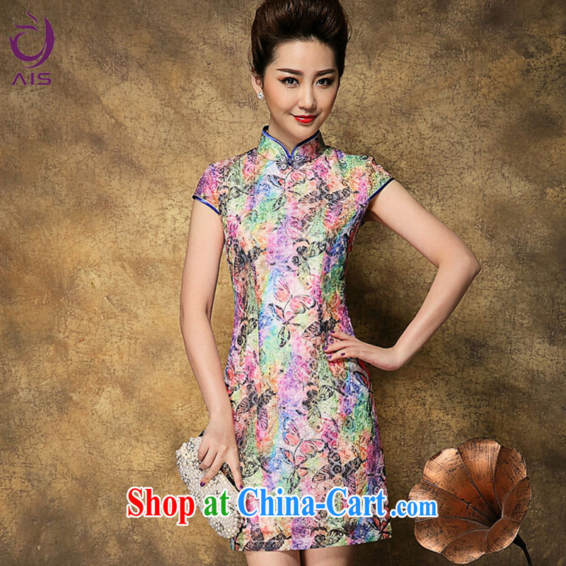 Still, the 2015 summer new, older mothers with Chinese Chinese qipao Palace National Culture quality goods multi-colored L