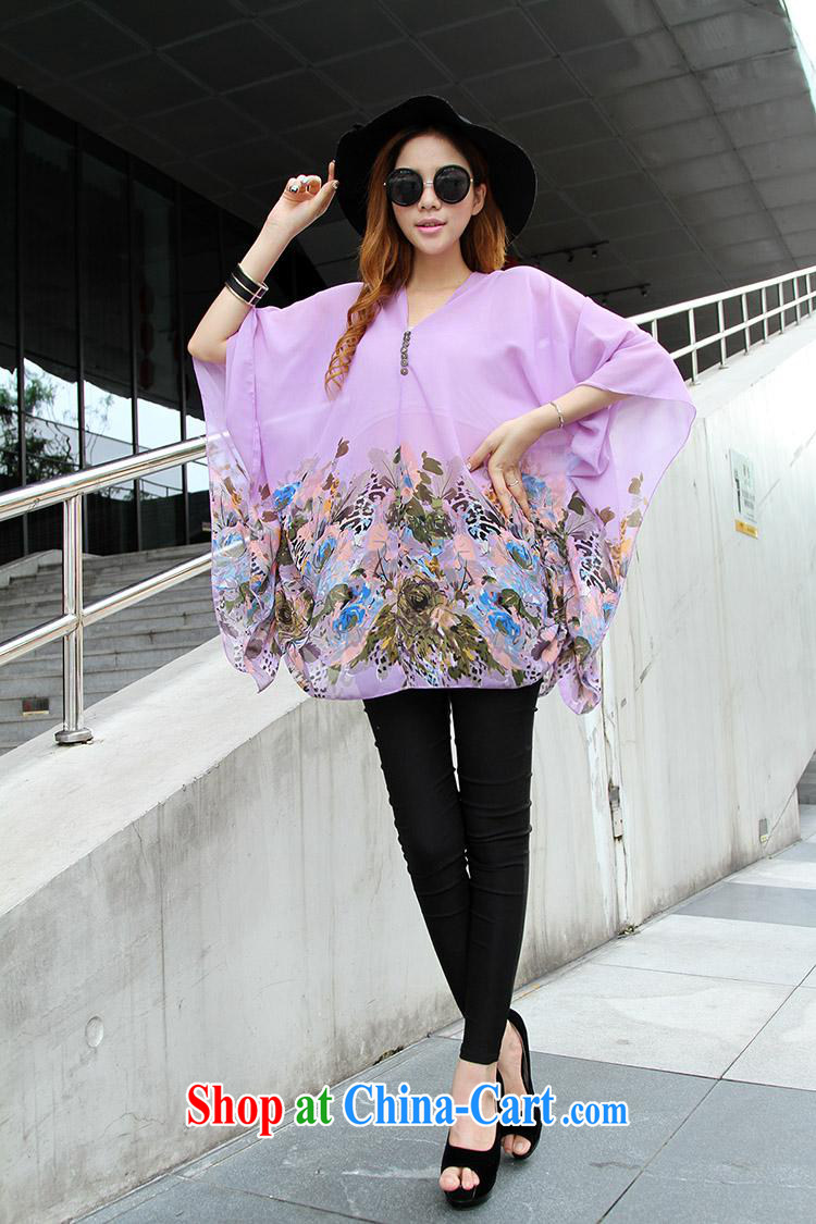Qin Qing store real-time a pregnant women - New V collar styling suits the code snow woven shirts violet large code XL pictures, price, brand platters! Elections are good character, the national distribution, so why buy now enjoy more preferential! Health