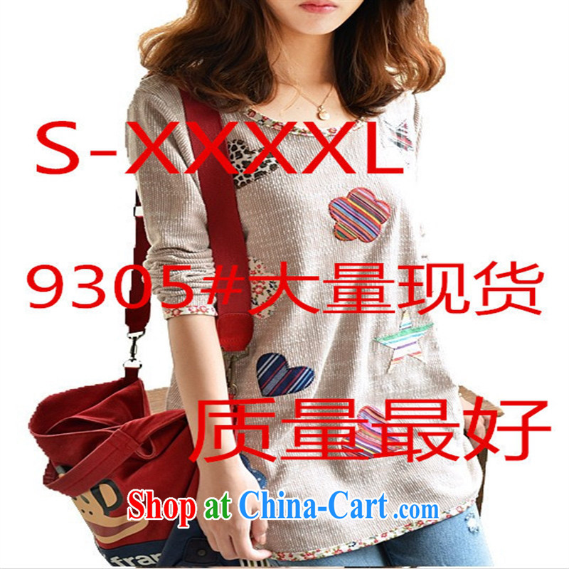 Qin Qing store female autumn new the lint-free cloth thicken the code mm thick small fresh debris T pension picture color L code is really good quality