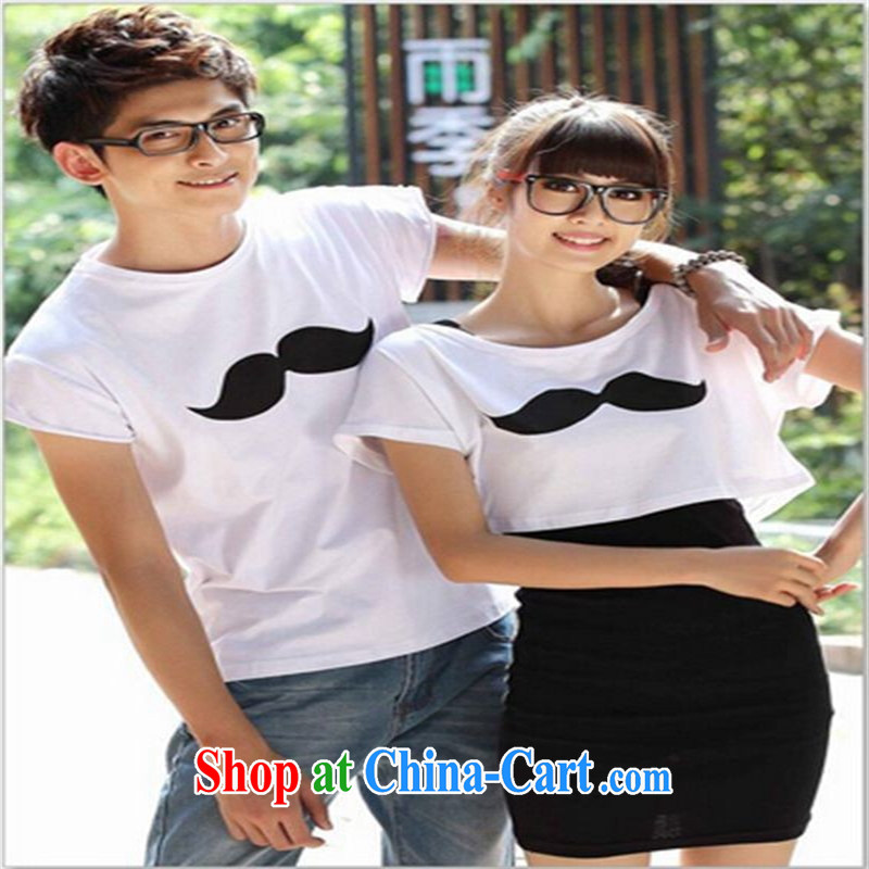 Qin Qing Store months the Korean dresses beach lovers the picture color new male L