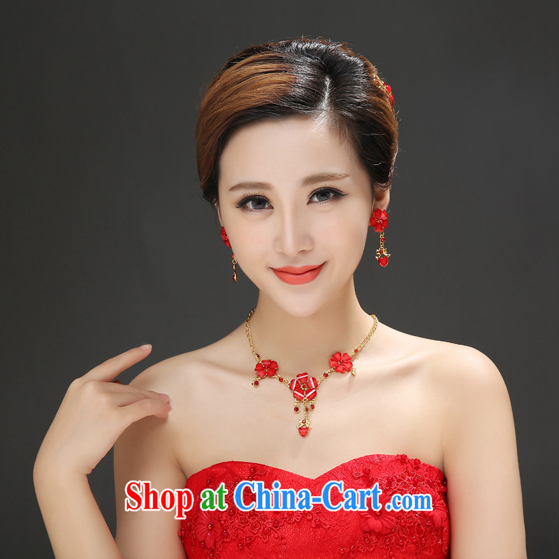 The color is still Windsor SPECIAL OFFERS NEW bridal suite link bridal necklace 3-Piece wedding accessories accessories red are code