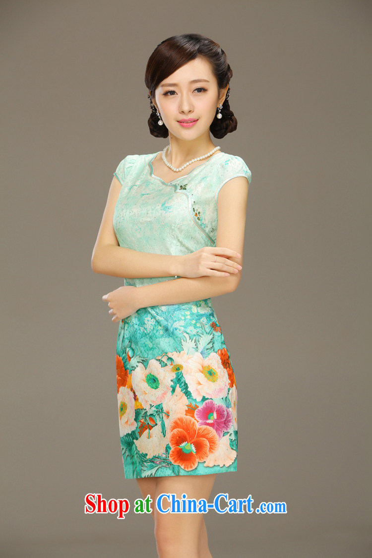 Slim li know glass dream 2015 spring and summer new stylish dresses girls lace short sleeve beauty package and cheongsam dress QLZ Q 15 6018 glass dream - Bosnia and Herzegovina, XXL pictures, price, brand platters! Elections are good character, the national distribution, so why buy now enjoy more preferential! Health
