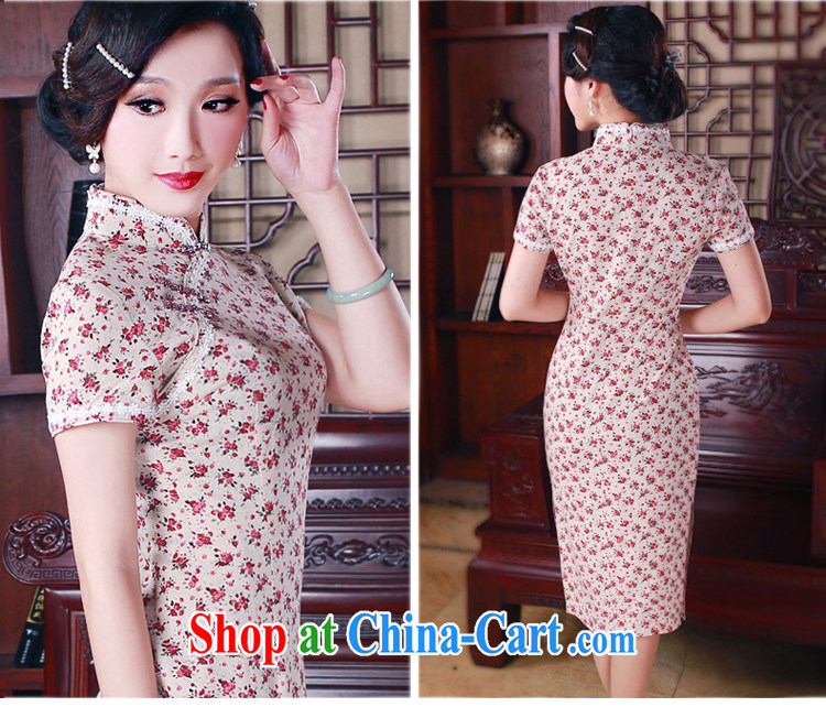 Unwind after the 2015 spring cheongsam dress daily fashion improved retro long cotton robes the commission 5015 fancy XXL pictures, price, brand platters! Elections are good character, the national distribution, so why buy now enjoy more preferential! Health