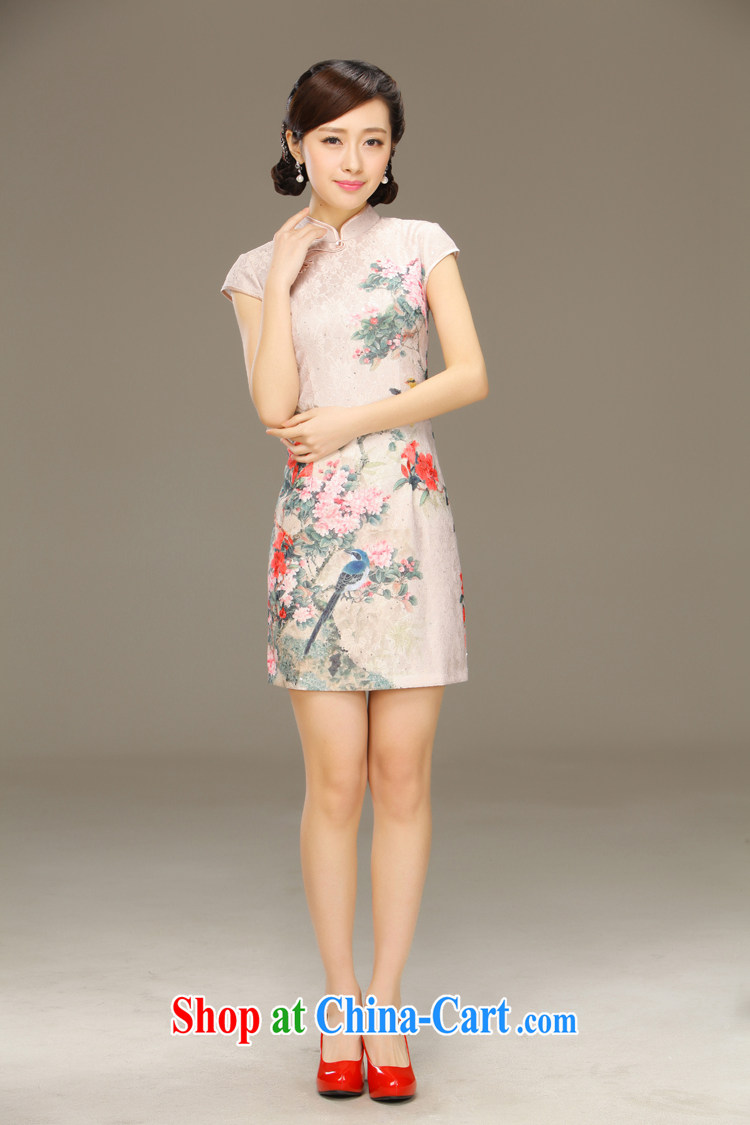 Slim li know dance fall 2015 spring and summer new retro improved stylish daily short-sleeve dresses style dresses QLZ Q 15 6027 Dance Off XXL pictures, price, brand platters! Elections are good character, the national distribution, so why buy now enjoy more preferential! Health