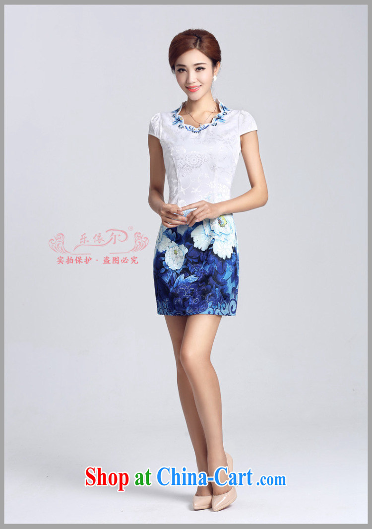 And, in accordance with classical stamp lady dresses retro embroidery flowers daily cultivating short cheongsam improved Party Ends LYE 66,629 white XL pictures, price, brand platters! Elections are good character, the national distribution, so why buy now enjoy more preferential! Health
