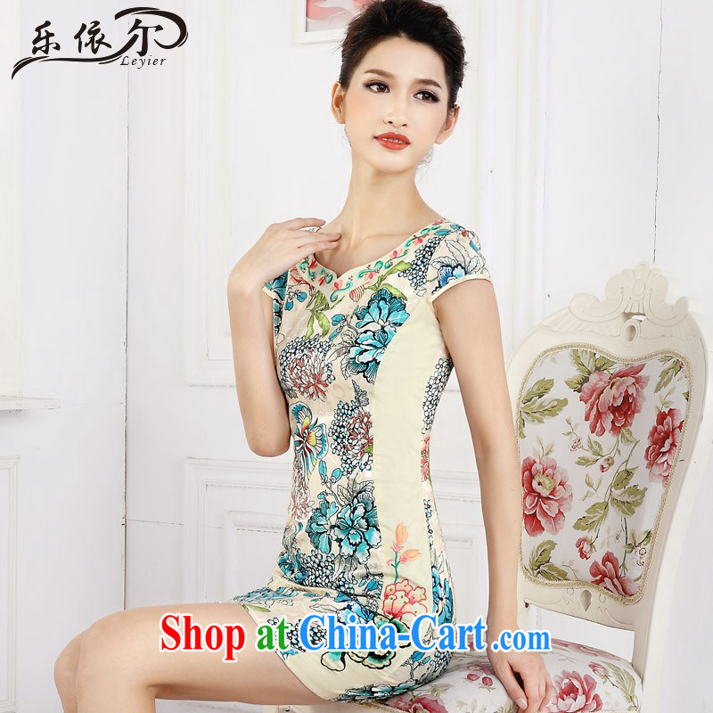 And, in accordance with short cheongsam dress girls retro stamp improved embroidery flower girl dresses daily LYE 66,610 green XXL