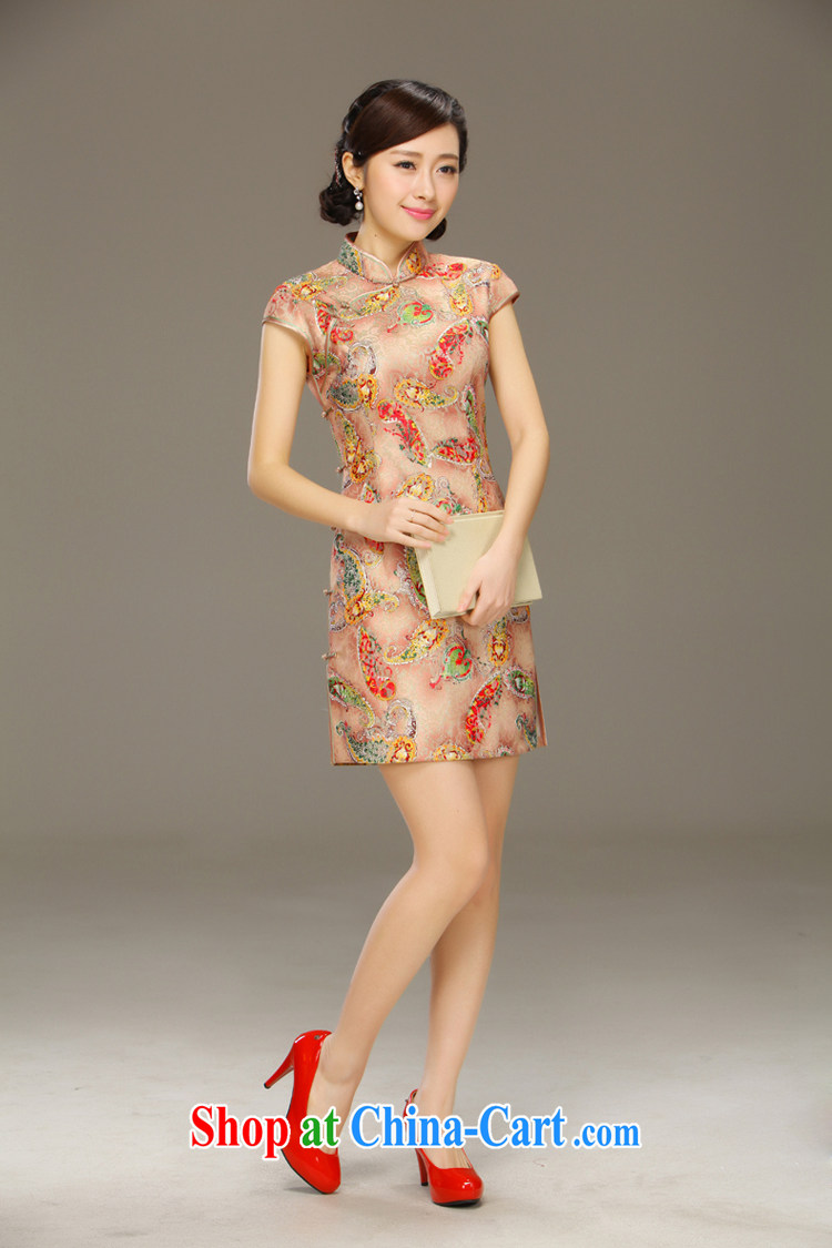 Slim LI knows his day off cheongsam dress improved stylish summer 2015 new lace dress cheongsam beauty QLZ Q 15 6039 picture color XXL pictures, price, brand platters! Elections are good character, the national distribution, so why buy now enjoy more preferential! Health