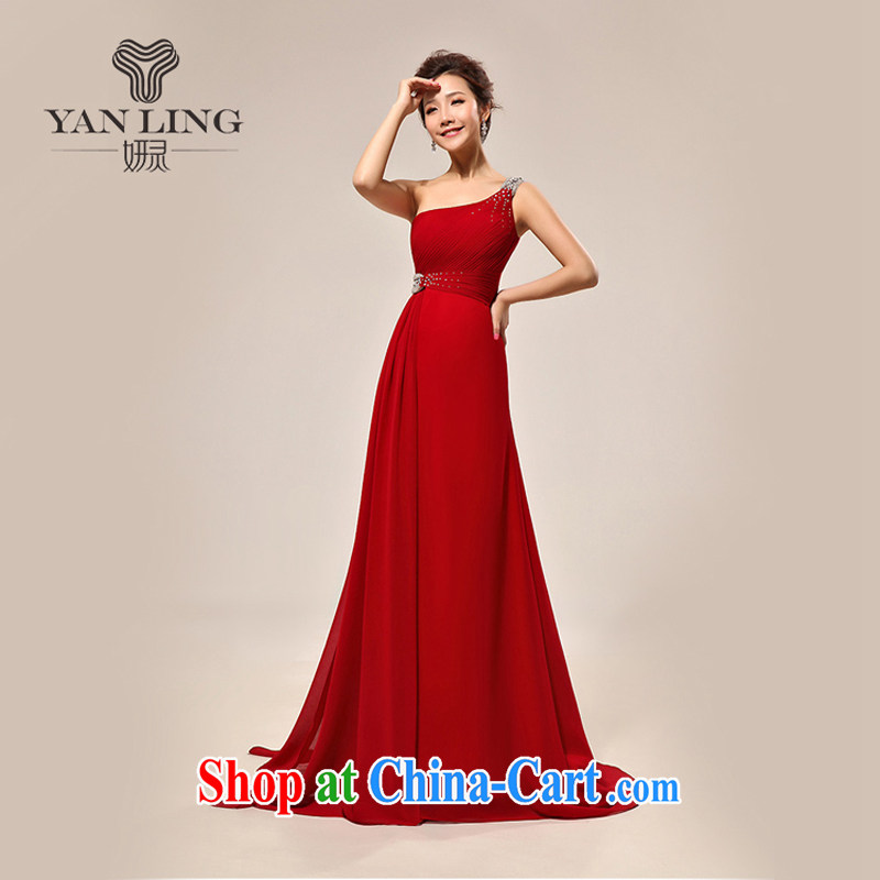 2015 New Red bridal toast serving short skirts female Chinese qipao toast small dress summer short improved, XL