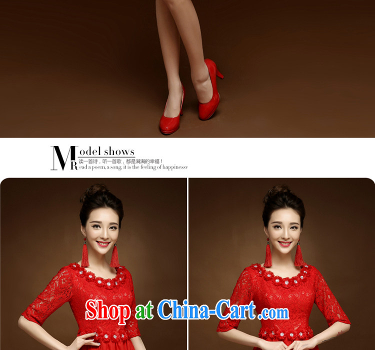 A good service is 2015 new dresses short spring and summer red bride toast wedding clothes Chinese style dress red 2 XL pictures, price, brand platters! Elections are good character, the national distribution, so why buy now enjoy more preferential! Health