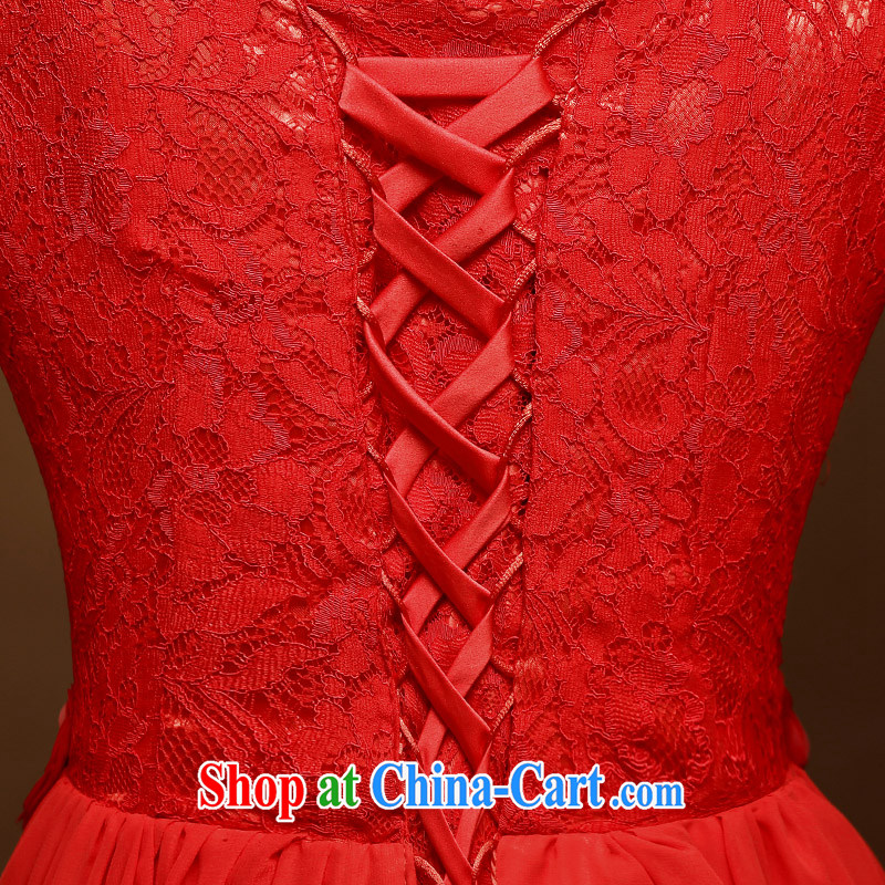 A good service is a 2015 new dresses, short spring and summer red bride toast wedding serving Chinese style dress red 2 XL, good service, and shopping on the Internet