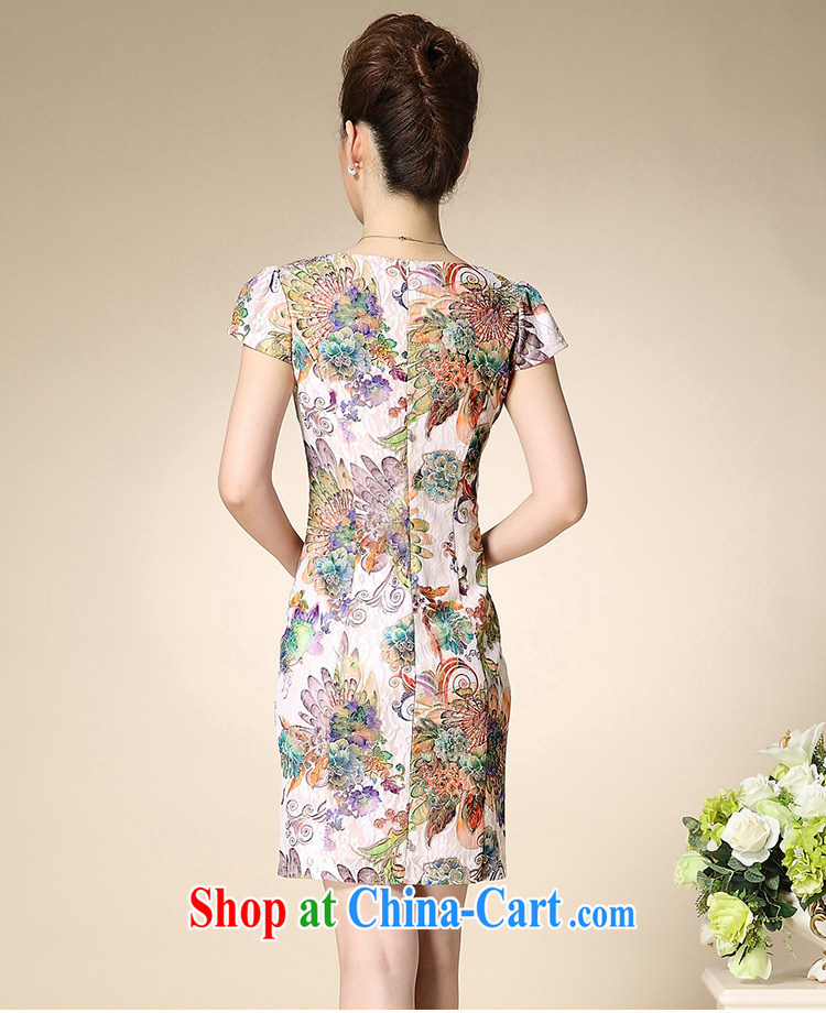 Deloitte Touche Tohmatsu store sunny summer 2015 with new, female, older female MOM dresses blue rose 3 XL pictures, price, brand platters! Elections are good character, the national distribution, so why buy now enjoy more preferential! Health