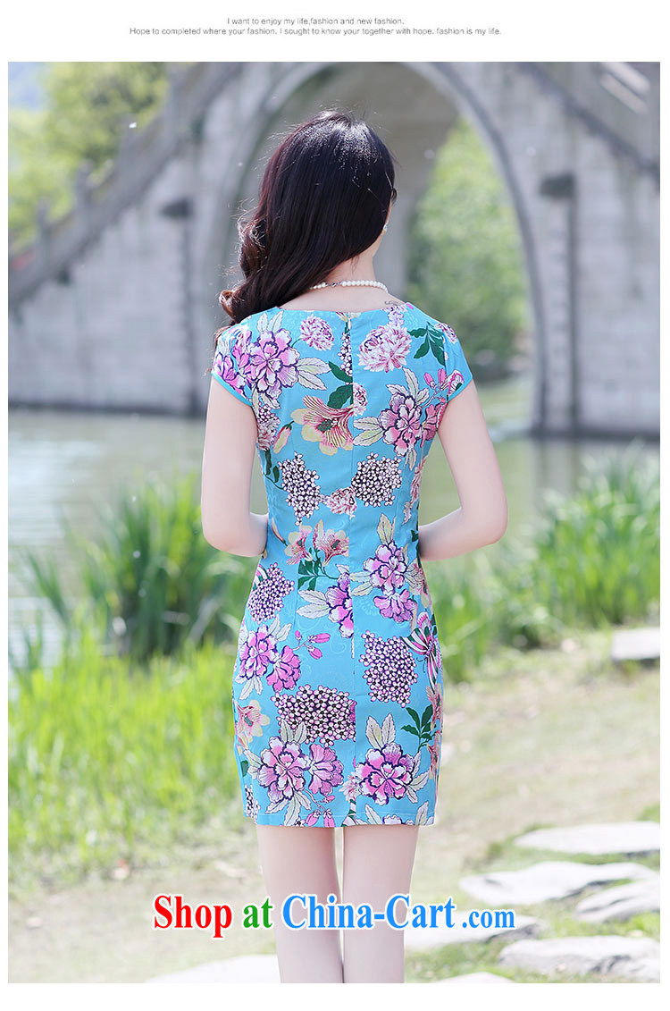 Appeals to appeal to 2015 summer new cultivating classical charm lady embroidery stamp pack and cheongsam dress green bottom take XL pictures, price, brand platters! Elections are good character, the national distribution, so why buy now enjoy more preferential! Health