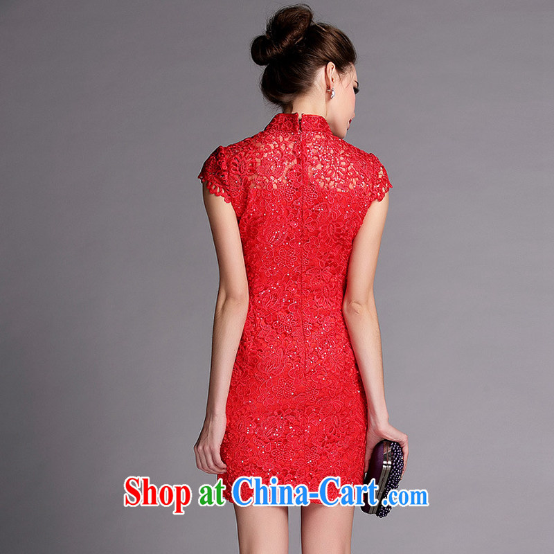 light at the Summer improved Stylish slim body language empty water-soluble, dresses wedding dresses XWG 140,502 red XXL, light (at the end QM), shopping on the Internet