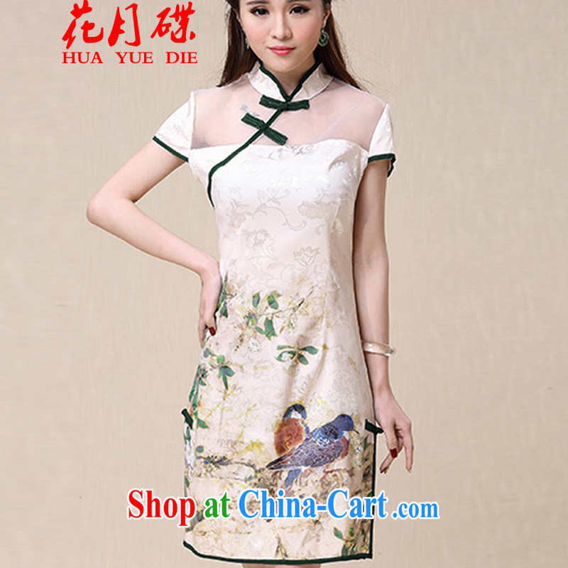 Flowers, Bow spring and summer New China wind National wind cultivating high-end elegant dresses FC R 3072 8952 white are code