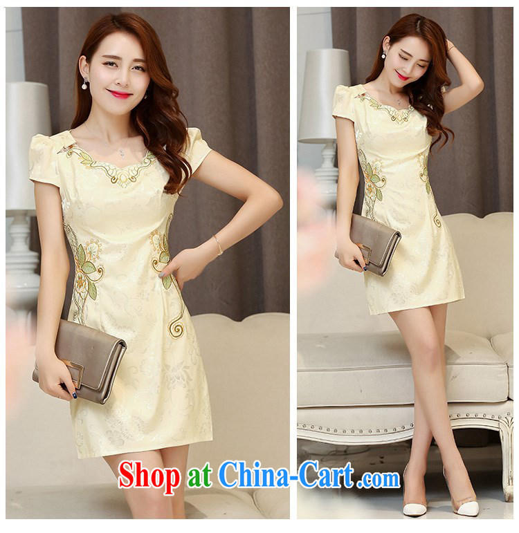 Constitution, women spend the summer 2015 new women daily improved short cheongsam with stamp duty retro lady graphics thin package and beauty dress 9368 pink XXL pictures, price, brand platters! Elections are good character, the national distribution, so why buy now enjoy more preferential! Health