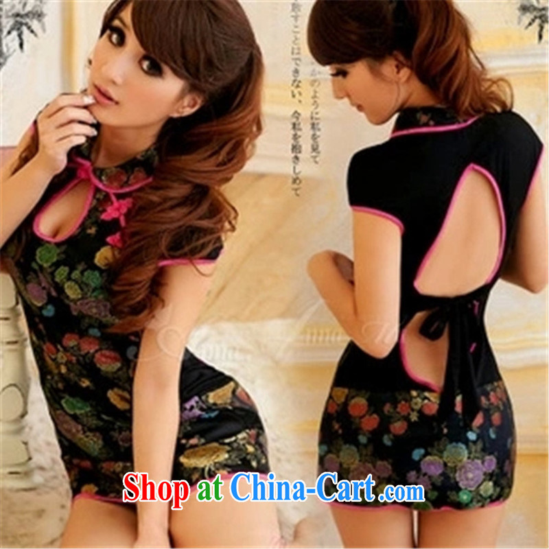 Temptation bra Kit 7 the world love and sexy Satin suit the ends cheongsam role service oil paintings cheongsam 26