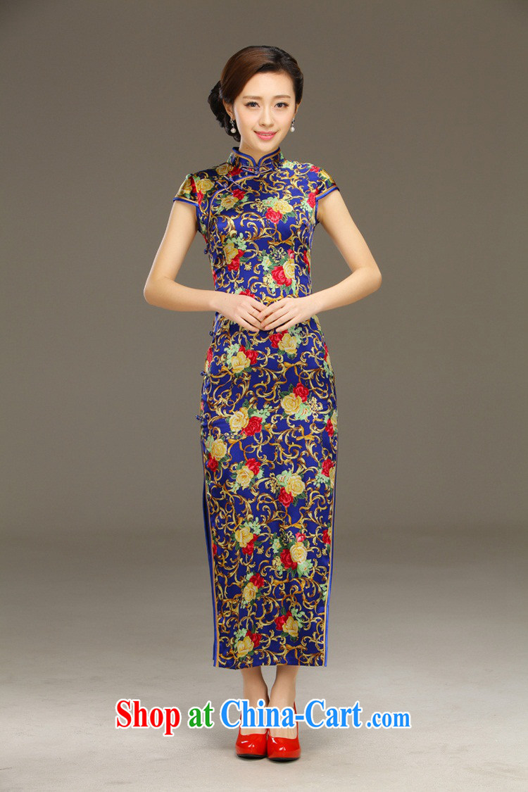 Slim li know Genius summer 2015 new daily long beauty banquet dresses improved retro dresses sexy QLZ Q 15 6054 Genius XXL pictures, price, brand platters! Elections are good character, the national distribution, so why buy now enjoy more preferential! Health