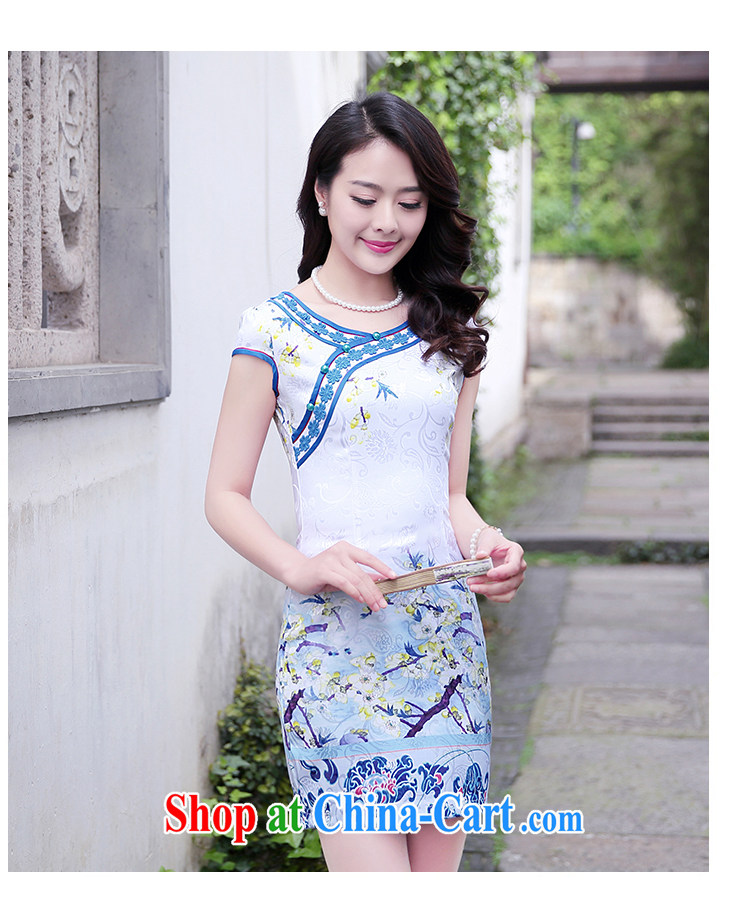 Summer 2015 new stylish and refined beauty, stamp duty cheongsam dress female toner Phillips L pictures, price, brand platters! Elections are good character, the national distribution, so why buy now enjoy more preferential! Health
