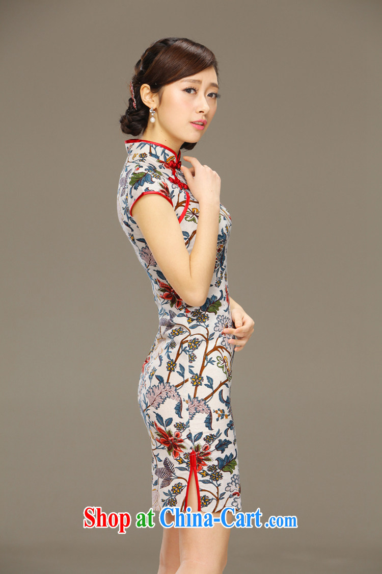 Slim li know that flick to spend National wind girls cotton the dresses, Chinese Antique summer-tie linen dresses QLZ Q 15 6060 flick to spend XXL pictures, price, brand platters! Elections are good character, the national distribution, so why buy now enjoy more preferential! Health