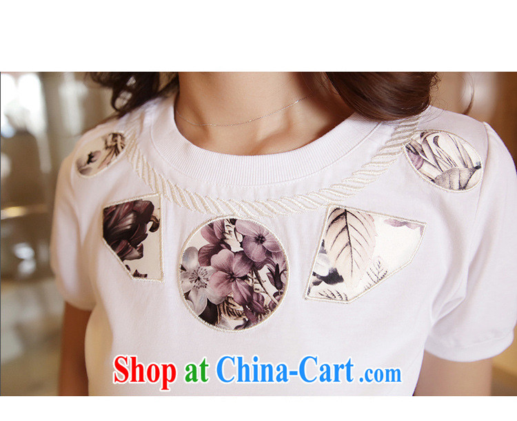 The European site summer 2015 women new stylish 100 ground round-collar short-sleeve shirt T 3116 white XL pictures, price, brand platters! Elections are good character, the national distribution, so why buy now enjoy more preferential! Health