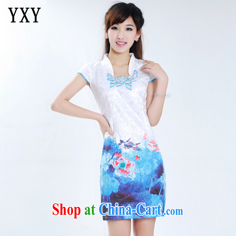 Stakeholders line cloud Chinese Antique improved short cheongsam beauty dresses JT 903 Bluetooth XL I should be grateful if you