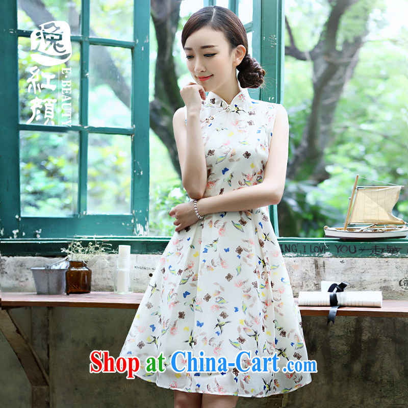 Once the proverbial hero Yu retro art van summer small fresh, for Dress ethnic wind women's clothing China wind Wong M