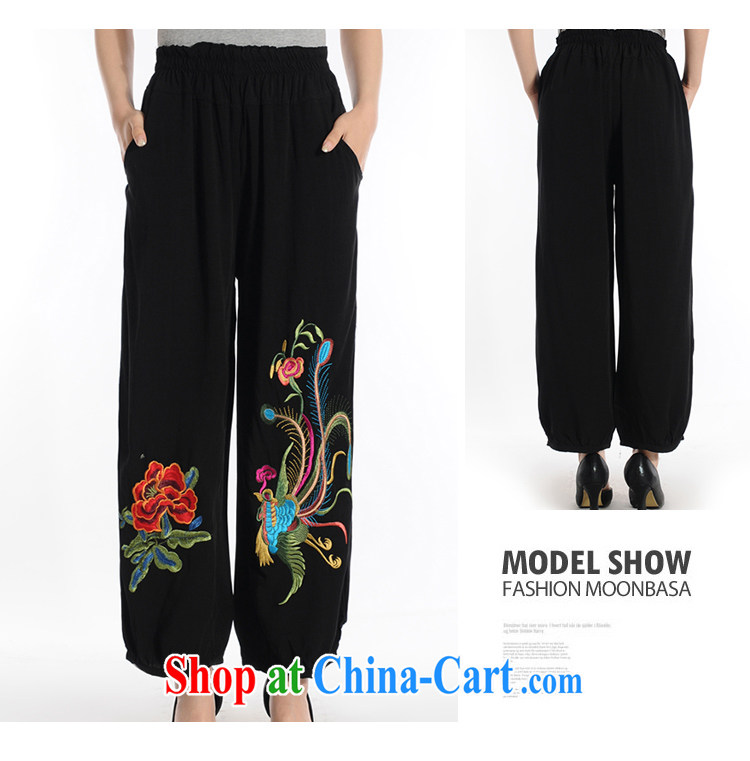 Al Gore, the 2015 middle-aged and older Chinese women pants 2015 new, older people, mothers with elastic waist lounge pants black XXXL pictures, price, brand platters! Elections are good character, the national distribution, so why buy now enjoy more preferential! Health