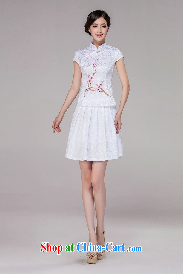Song, Julia 2015 spring and summer new female Chinese qipao day