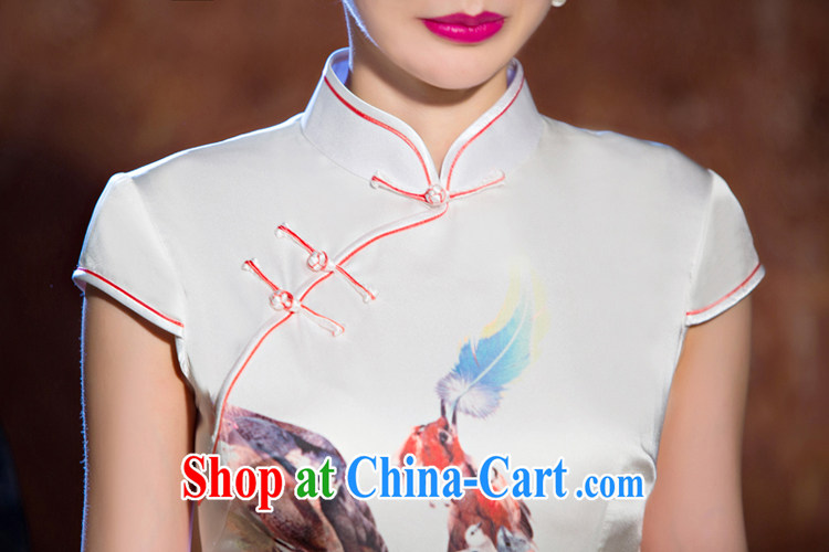 Slim li know light makeup new dresses summer short, short-sleeved retro dresses improved cultivation daily dress stylish QLZ Q 15 6065 light makeup XXL pictures, price, brand platters! Elections are good character, the national distribution, so why buy now enjoy more preferential! Health