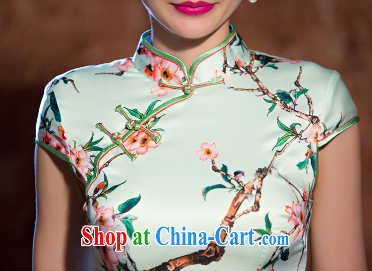 Slim li know MGM Studios summer new cheongsam dress retro fashion beauty cheongsam dress daily short dresses female QLZ Q 15 6066 MGM Studios - commercial edge L pictures, price, brand platters! Elections are good character, the national distribution, so why buy now enjoy more preferential! Health
