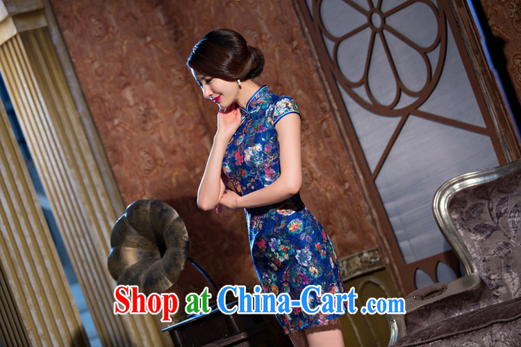 Slim li know-by-dream summer new lace beauty style cheongsam stylish short-day qipao dresses female QLZ Q 15 6070 dream-XXL pictures, price, brand platters! Elections are good character, the national distribution, so why buy now enjoy more preferential! Health