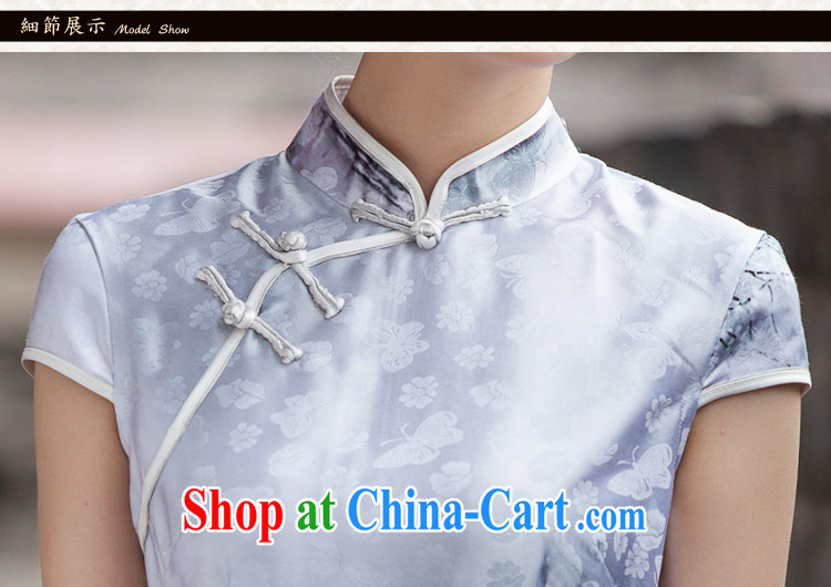 The love-Fang Painting cheongsam dress retro fashion China Daily outfit XL pictures, price, brand platters! Elections are good character, the national distribution, so why buy now enjoy more preferential! Health