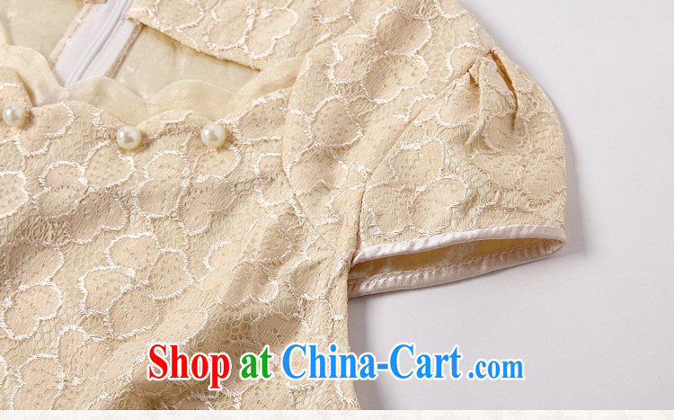 The Korea House, summer 2015 lace cheongsam stylish beauty dresses, 518 - 1106 - 42 blue XL pictures, price, brand platters! Elections are good character, the national distribution, so why buy now enjoy more preferential! Health