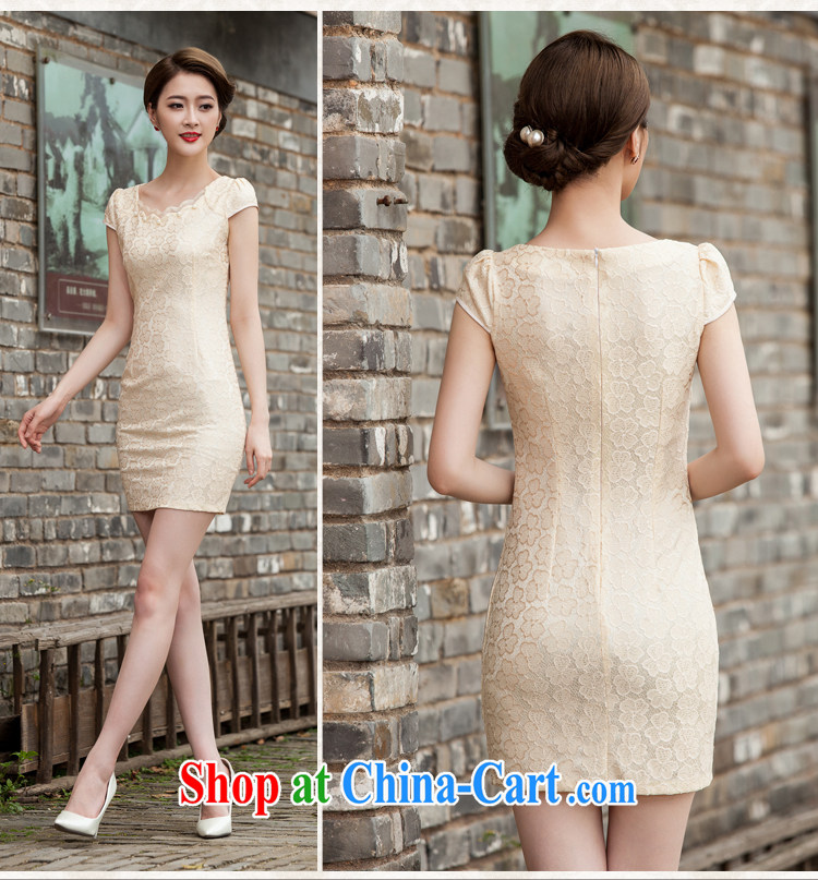 Hung Tai spring 2015 summer lace cheongsam stylish beauty dresses, 518 - 1106 - 42 blue XL pictures, price, brand platters! Elections are good character, the national distribution, so why buy now enjoy more preferential! Health
