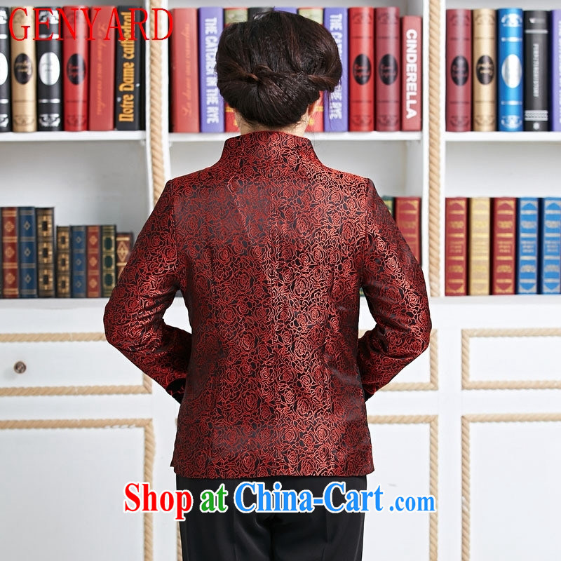 Qin Qing store new Chinese, improved Chinese Spring mother Tang red XXXL, GENYARD, shopping on the Internet