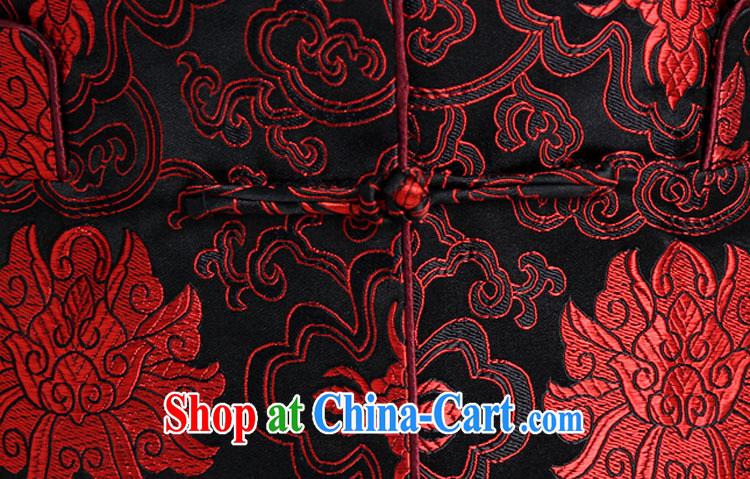 Qin Qing store Chinese female Chinese national female costumes clothing casual wear black XXXL pictures, price, brand platters! Elections are good character, the national distribution, so why buy now enjoy more preferential! Health