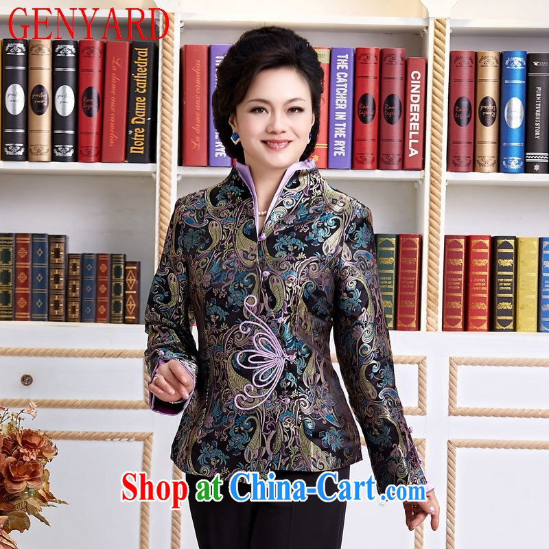 Qin Qing store TANG To Yung-chun Tang Replace T-shirt jacket, boutique, older Tang red XXXL