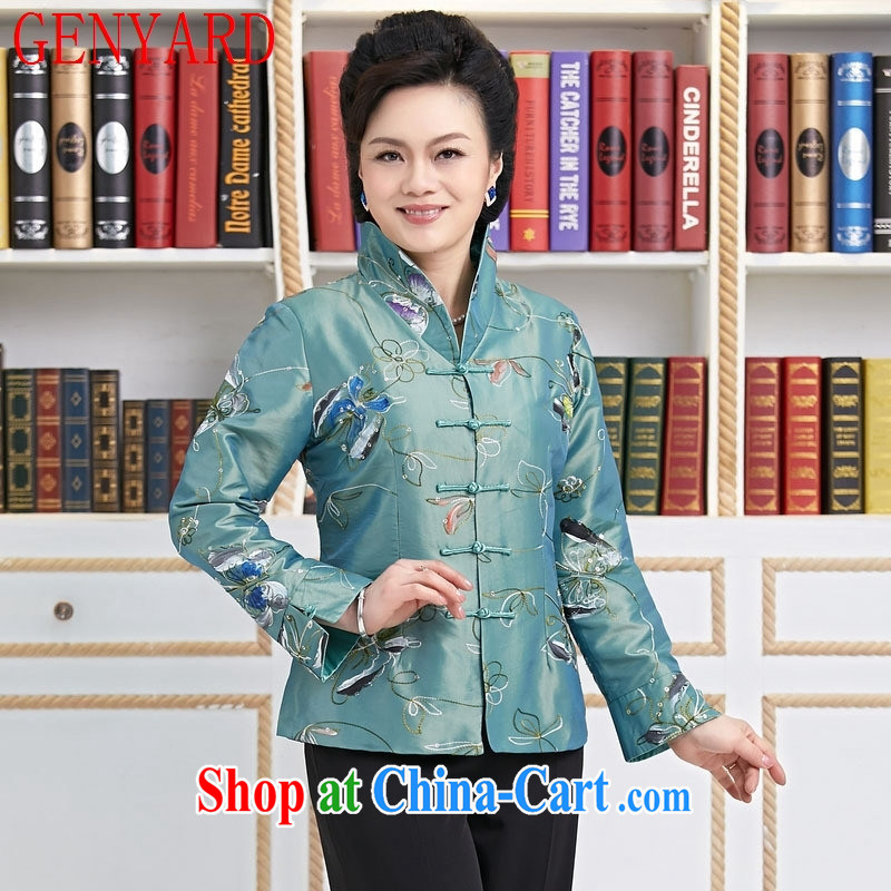 Qin Qing store Ms. replace spring MOM improved Tang red XXXL