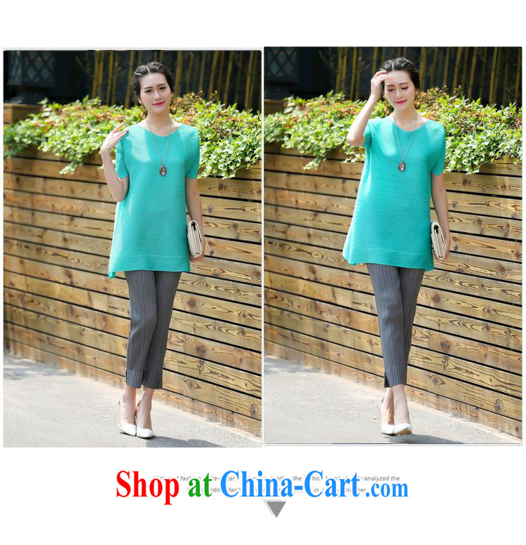 Forest narcissus summer 2015 new codes are short-sleeved round neck bat T-shirt, with generous T shirt T-shirt XYY - 87,085 green are code pictures, price, brand platters! Elections are good character, the national distribution, so why buy now enjoy more preferential! Health