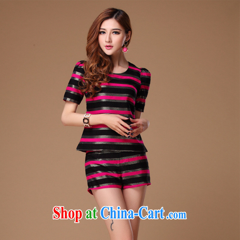 Summer new two-piece dress dresses the European site OL mother load picture color XL
