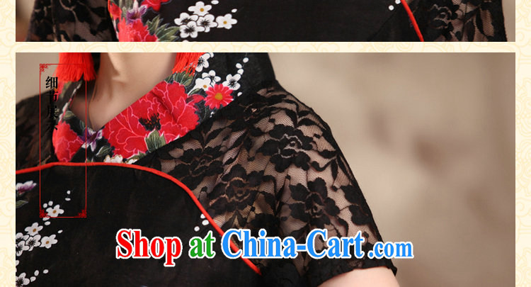 Find Sophie summer new ethnic wind style improved, Ms. Yau Ma Tei cotton lace hand-painted large, short-sleeved Chinese shirt peony flower 5 XL pictures, price, brand platters! Elections are good character, the national distribution, so why buy now enjoy more preferential! Health